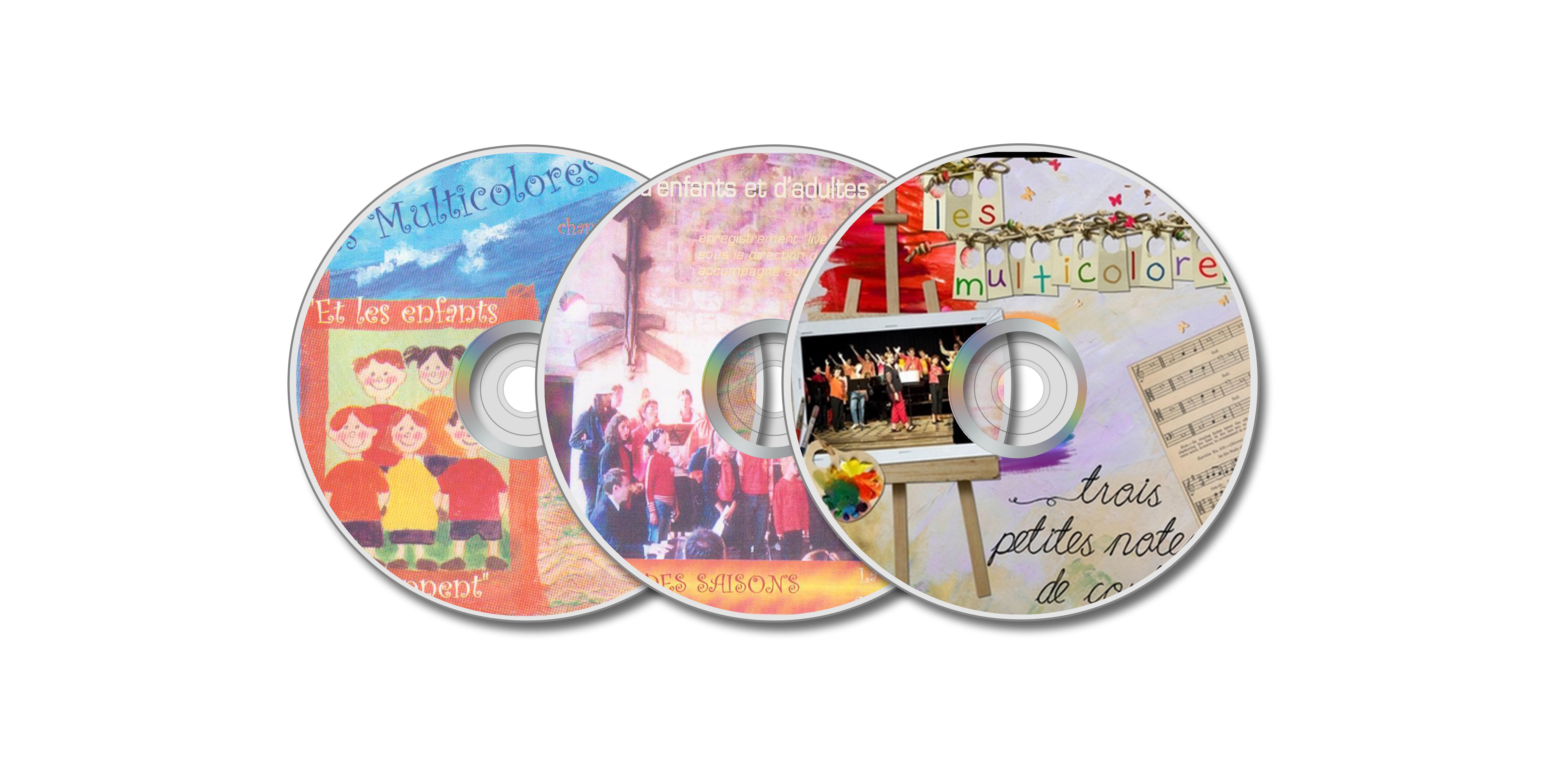 CDs des Multicolores