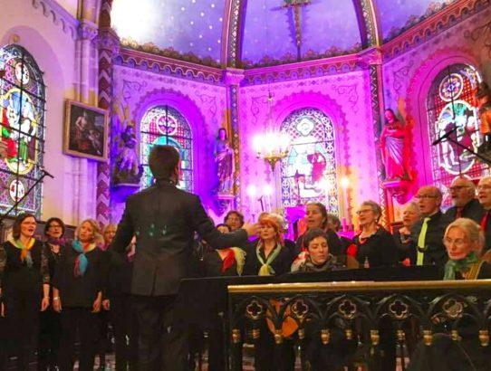 Concert de la fête des mères à Auneuil samedi 25 mai